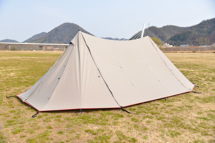 "【WEB限定発売】CAMP MANIA PRODUCTS / ""PRECIOUS"" twin pole shelter 2016"