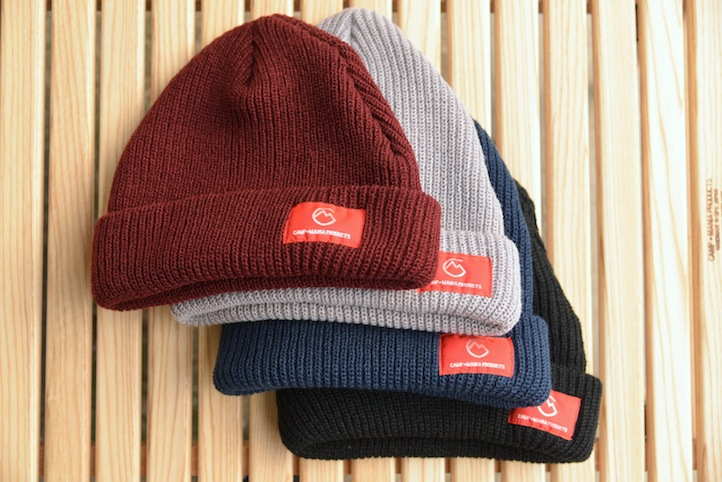 【WEB限定】CAMP MANIA PRODUCTS / 2016 CAMPING BEANIE