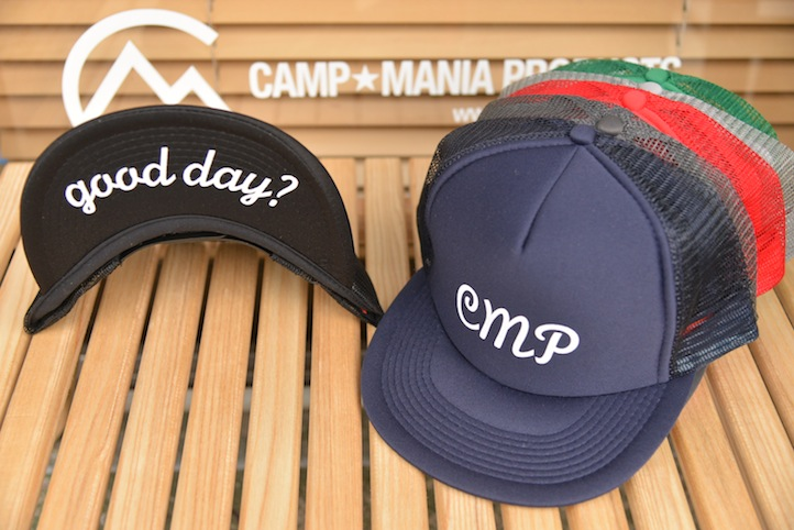 【WEB限定】CAMP MANIA PRODUCTS / GOOD DAY CAP