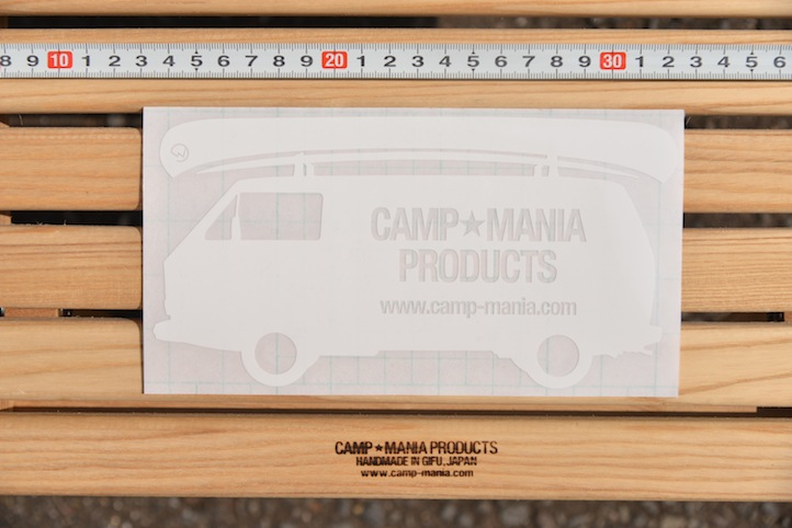 CAMP MANIA PRODUCTS / DECAL STICKER (T3 logo)