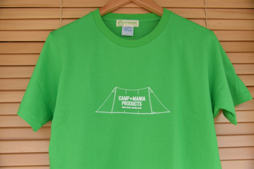 "【WEB限定】CAMP MANIA PRODUCTS / ""PRECIOUS"" Tee #6(グリーン×ホワイト)"