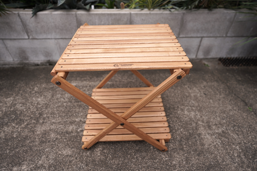 CAMP MANIA PRODUCTS / TRASH STAND TABLE